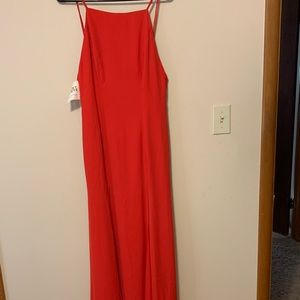 Cherry Red Fame and Partners Maxi Dress Size 6 NWT